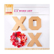 Hand Made Modern 3-D Wood Art Craft Kit Valentine's Day - DD630050