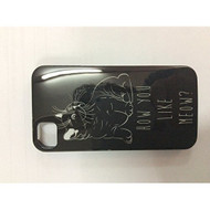 iConcepts Hardshell Case For iPhone 4/4S Cat Design Black/White Cover - EE541157