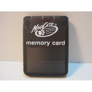 Mad Catz PlayStation Memory Card Black For PlayStation 1 PS1 Expansion - EE585554