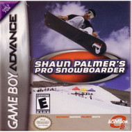 Shaun Palmer's Pro Snowboarder For GBA Gameboy Advance Extreme Sports - DD637669