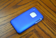 Rocketfish Snap-On Case For Apple iPhone 3G And 3GS Blue Metallic - EE137539