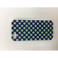 iConcepts Hardshell Case For iPhone 5 5S SE Small Green Polka Dots - EE541140