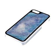 Pilot CA-6121EQBS Liquid Glitter Case For Apple iPhone 5 5S SE Aqua - EE596401