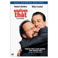 Analyze That Full Screen On DVD With Robert De Niro Comedy - DD573091