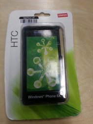 HTC Windows Phone 8X Case Black 2-Piece Shell Cover Fitted - EE444395