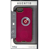 AGENT18 Cell Phone Case For iPhone 5 5S SE Pink/gold Rims Cover - EE534282