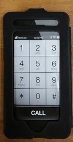 Slim Frame Wallet Phone Case With Strap Black Cover VT1739B - EE540167