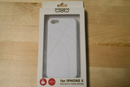 WoW Snap-On Soft Plastic Skin Case For iPhone 5 5S SE White - EE563083
