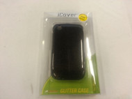 iCover Glitter Case For BlackBerry Curve 8520 8530 9300 Black Cover - EE434070