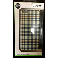 Belkin iPhone 6 Plus Case Red White And Blue Plaid Cover - DD594586