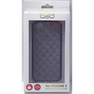 WoW For iPhone 5 5S SE Dark Grey Case Cover Gray Fitted - EE558664