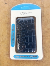 iCover Blue Snakeskin iPhone 3G 3GS Case Cover Fitted Case - EE432792