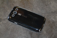 Speck CandyShell Glossy Case For Samsung Galaxy S III Black/Dark Grey - EE562350
