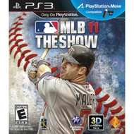 MLB 11: The Show For PlayStation 3 PS3 Baseball - EE556677