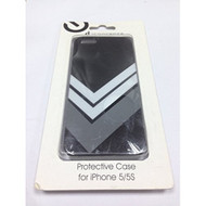 iConcepts Protective Case For iPhone 5 5S SE White Chevron Cover - DD602970