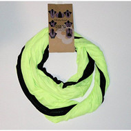 Feria Infinity Multiloop Scarf Black/Yellow - EE471601