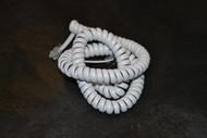 "Jasco 12"" White Handset Cord JAS-TL86175 Telephone - EE525263"