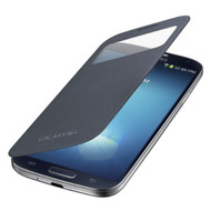 Samsung Galaxy S4 S-View Flip Cover Folio Case Black - EE564587