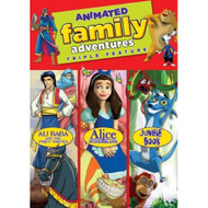 Animated Family Adventures On DVD - EE498407