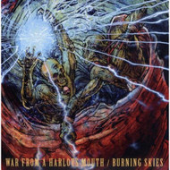 War From A Harlots Mouth / Burning Skies On Vinyl Record By War From A - EE548876