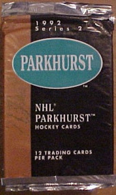 1992 Parkhurst Series 2 NHL Hockey Cards Pack TCG - E30318