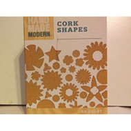 68 Count Cork Shapes For Crafts - DD629739