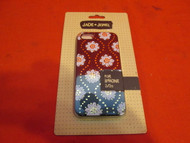 Jade & Jewel Medallion Floral Cell Phone Case iPhone 5 5S SE Black - EE533894