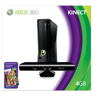 Xbox 360 4GB Console With Kinect Video Game Systems - ZZ539952