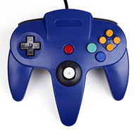 Generic Wired Game Controller For Nintendo Blue For N64 - ZZ633704