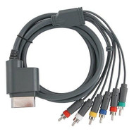 Component HDTV Video And RCA Stereo AV Cable For Xbox 360 A/v - ZZ534982