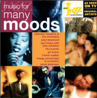 Jazz Music For Many Moods On Audio CD Album - DD628224