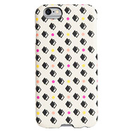 AGENT18 Cell Phone Case For Apple iPhone 6 Dots Over Fabric Cover - EE530983