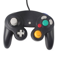 Wired Controller For Nintendo Wii Black Gamepad For GameCube & Wii - ZZ518777