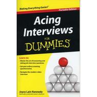 Acing Interviews For Dummies Job Career Book By Joyce Lain Kennedy - E439129