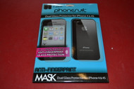 PhoneSuit Mask Dual Anti-Fingerprint iPhone 4 Screen Protector 2 Pack - EE495329