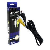 Sega Genesis AV RCA Video Cable Model 1 MK-1601 A/v - ZZ518805