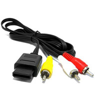 Nintendo GameCube N64 Audio Video Cable SNES For Super Nintendo - ZZ528333