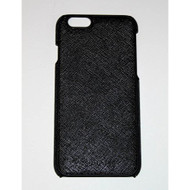 Adopted Leather Saffiano Black Case For iPhone 6 6S Cover Fitted - EE559752