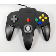 Nintendo N64 USB Controller Black By Mars Devices Gamepad - ZZZ99055