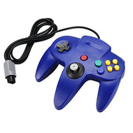 Blue Long Handle Controller Pad For Nintendo 64 System For N64 - ZZ633648