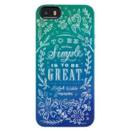 Belkin Dana Tanamachi Quote With Floral For iPhone 5 5S SE Multicolor - EE530921