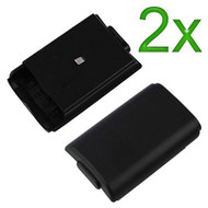 2X Black Battery Cover For Microsoft For Xbox 360 Protective - ZZ530518