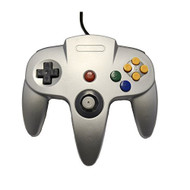 Nintendo N64 Silver Replacement Controller By Mars Devices For N64 - ZZZ99066