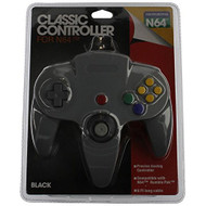 Classic Controller Grey For N64 Nintendo Gray Gamepad - ZZ633245