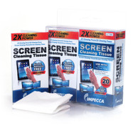 On-The-Go Screen Cleaning Wipes 20 Wipes Set - EE469504