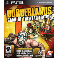 Borderlands: Game Of The Year Edition For PlayStation 3 PS3 Shooter - DD637721