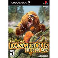 Cabela's Dangerous Hunts 2009 For PlayStation 2 PS2 Shooter - EE647485