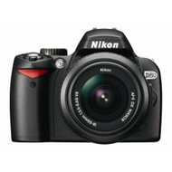 Nikon D60 DSLR Camera With 18-55MM F/3.5-5.6G Auto Focus-S Nikkor Zoom - EE648849