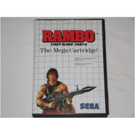 Rambo First Blood Part II System For Sega Master Vintage With Manual - EE648919