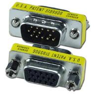 QVS PSHD15 HD15 Male To Female PortSaver For VGA Port - DD650360